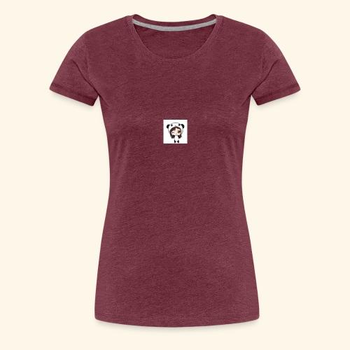 panda girl - Women's Premium T-Shirt