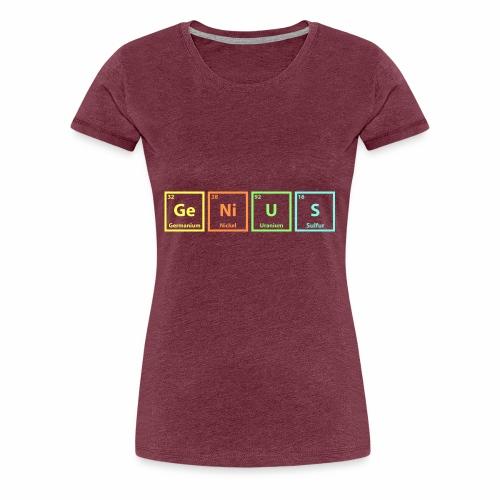 Genius Chem - Women's Premium T-Shirt
