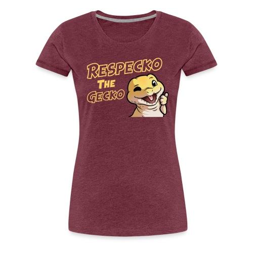 !gecko - Women's Premium T-Shirt