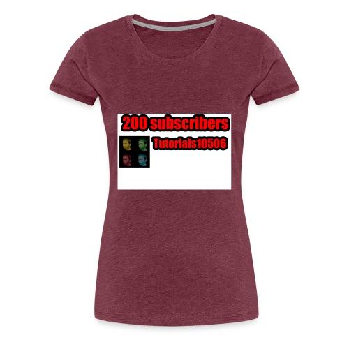 200 Merch - Women's Premium T-Shirt