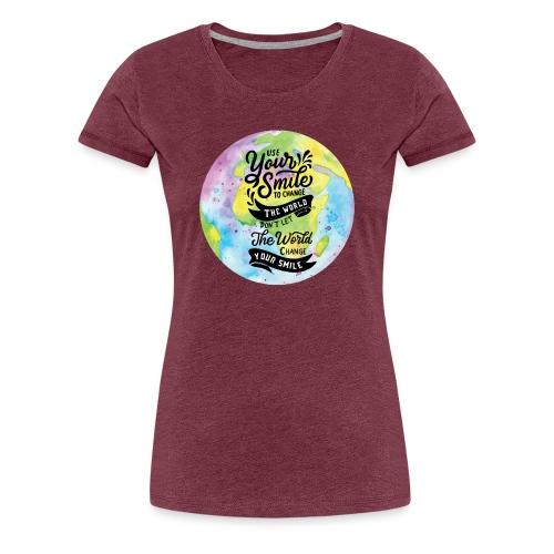 Use Your Smile - Women's Premium T-Shirt