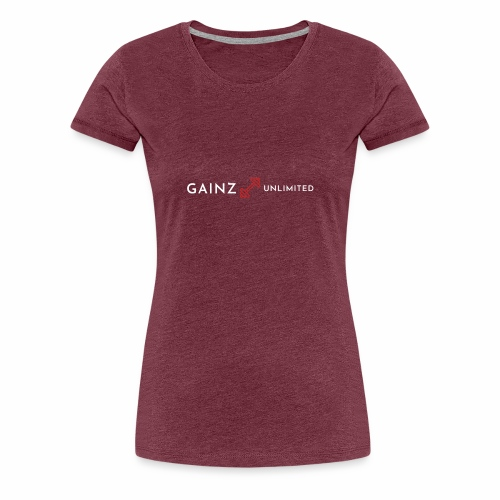 Gainz unlimited - Women's Premium T-Shirt