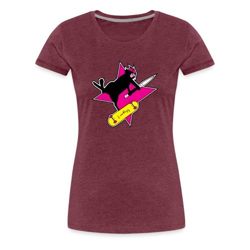 Ninja Cat Star - Women's Premium T-Shirt