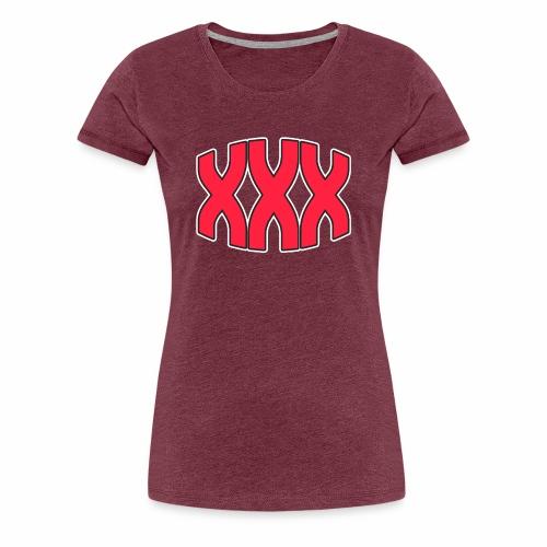 Triple X - Women's Premium T-Shirt