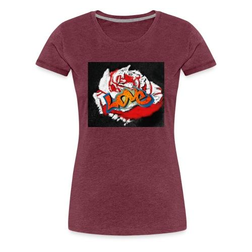 Rose. Love - Women's Premium T-Shirt