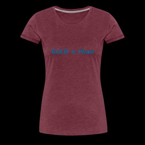 Marz Gamertag - Women's Premium T-Shirt