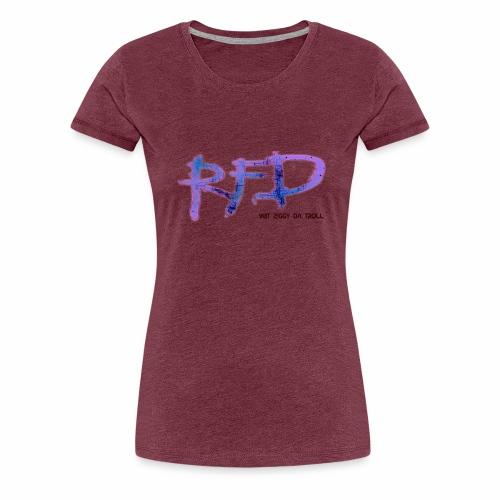 Radio Free Detroit Matrix Graffiti - Women's Premium T-Shirt