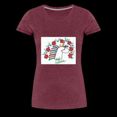 Magic Unicorn - Women's Premium T-Shirt