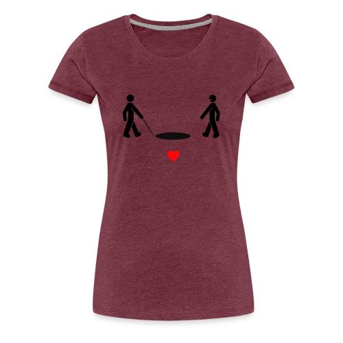 I wish I was blind - Women's Premium T-Shirt