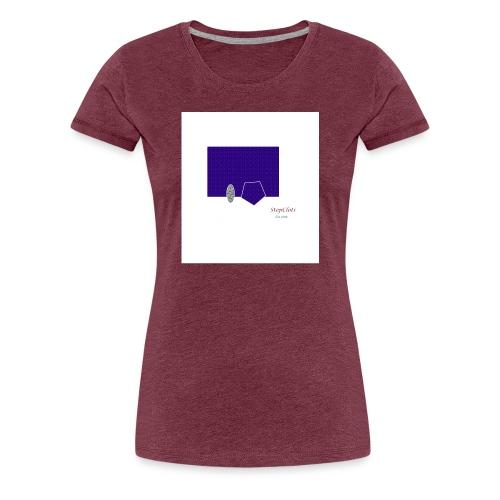 Simple Rectangle - Women's Premium T-Shirt