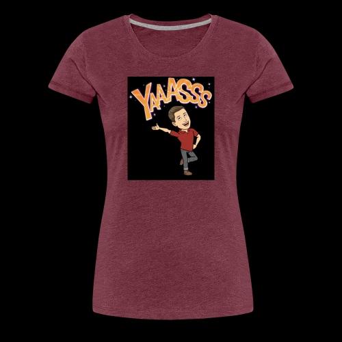 yassss - Women's Premium T-Shirt