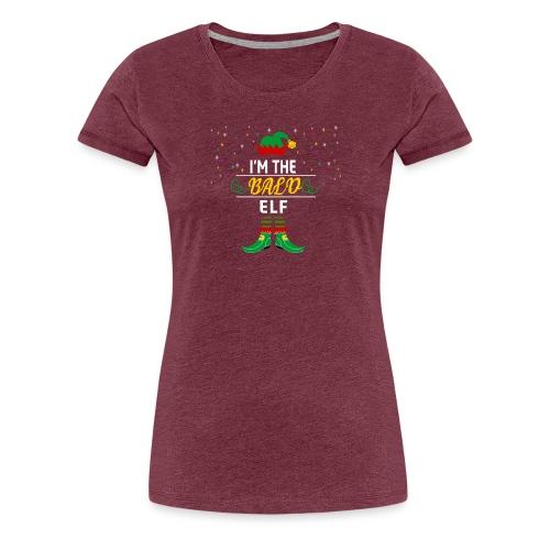I am The bald Elf Christmas gift - Women's Premium T-Shirt