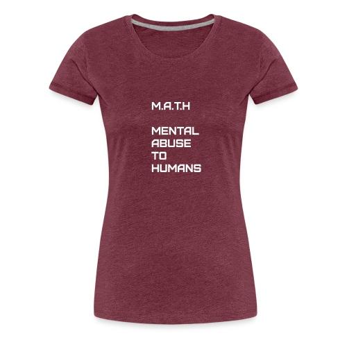 Math Alt - Women's Premium T-Shirt