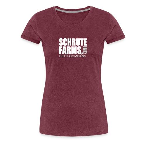 Schrute Farms - Women's Premium T-Shirt