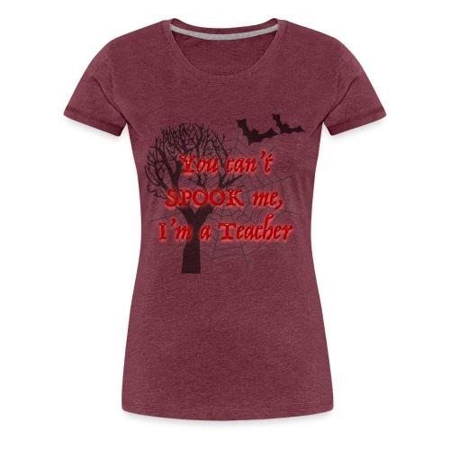 Spooky Teacher - Women's Premium T-Shirt