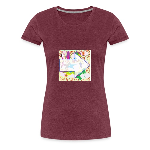shapes - Women's Premium T-Shirt