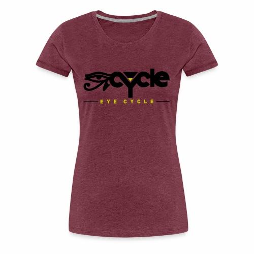 Variety LINE EYECYCLENYC tops, tee, long sleeve - Women's Premium T-Shirt