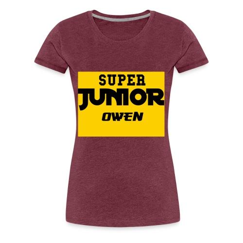 SJO Big DF text - Women's Premium T-Shirt