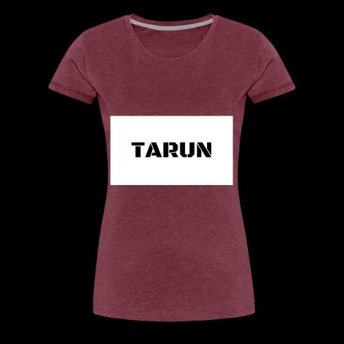 THE TARUN MERCH - Women's Premium T-Shirt