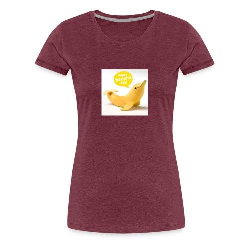 Banana dolphin - Women's Premium T-Shirt