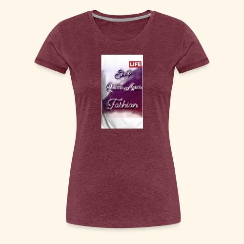 Queen Aries life - Women's Premium T-Shirt