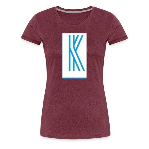The K design - Women's Premium T-Shirt