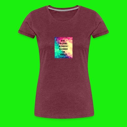 93E8BAEA 6D53 40E4 9C7C 8510DA93CA8B - Women's Premium T-Shirt