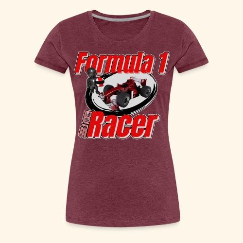 Formula 1 Sim Racer - Women's Premium T-Shirt