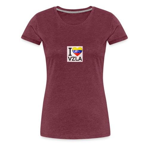 love your country - Women's Premium T-Shirt