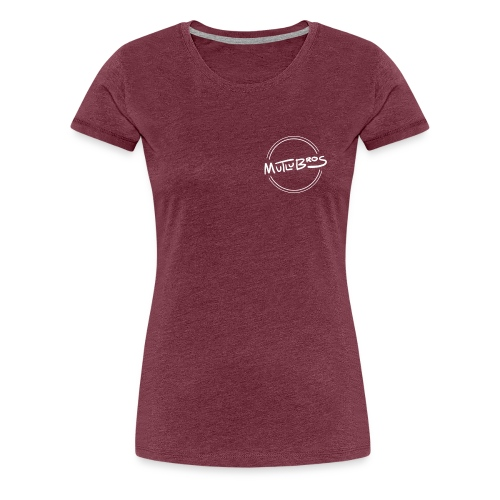 Classic Mutlu Bros White - Women's Premium T-Shirt