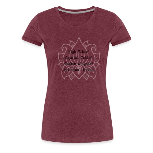 Spiritual Badass - Women's Premium T-Shirt