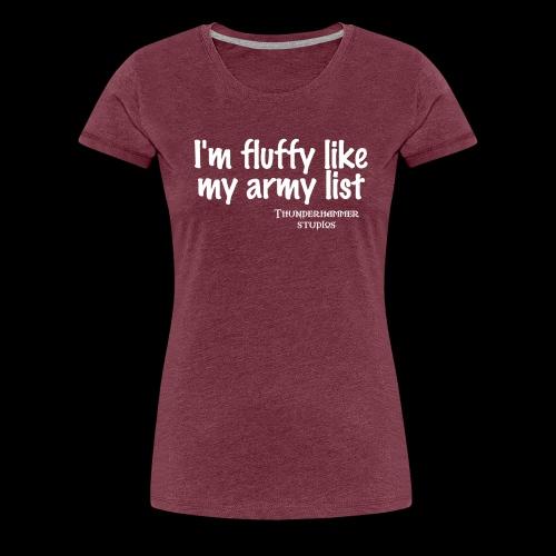 fluffy - Women's Premium T-Shirt
