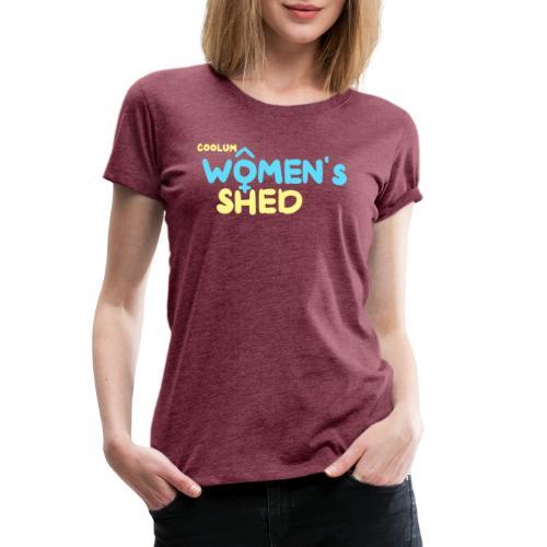 Coolum Women's Shed Tshirts - Women's Premium T-Shirt