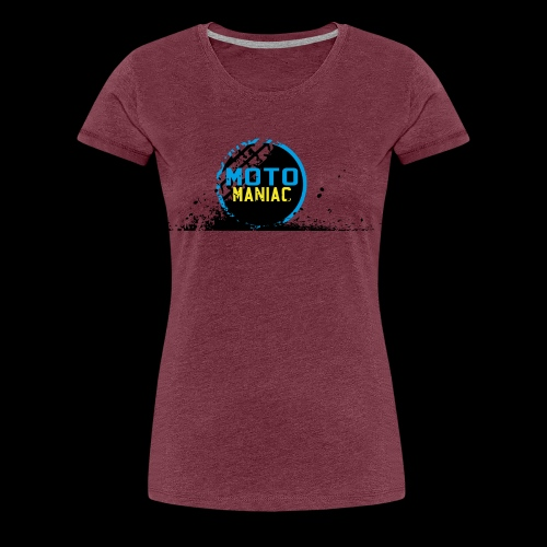 MotoManiac's tracks - Women's Premium T-Shirt