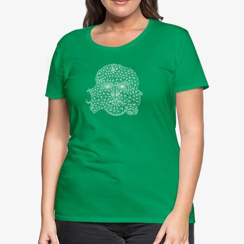 White Che - Women's Premium T-Shirt