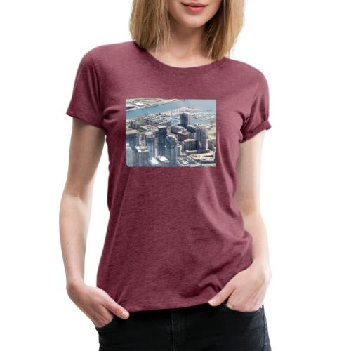 Toronto building by JRL - Women's Premium T-Shirt