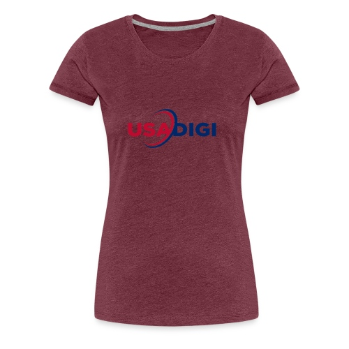 USA DIGI for light shirts - Women's Premium T-Shirt