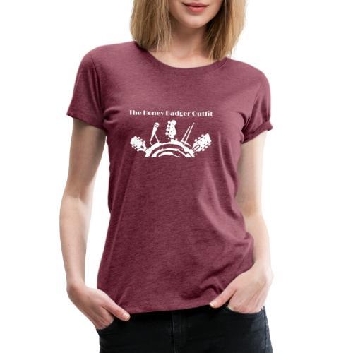HBOutfit White Logo - Women's Premium T-Shirt
