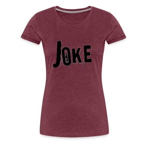 logo joke - Women's Premium T-Shirt