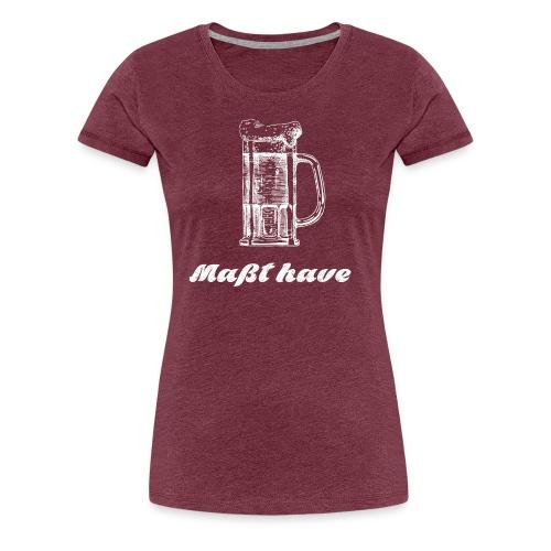Masst have - Women's Premium T-Shirt