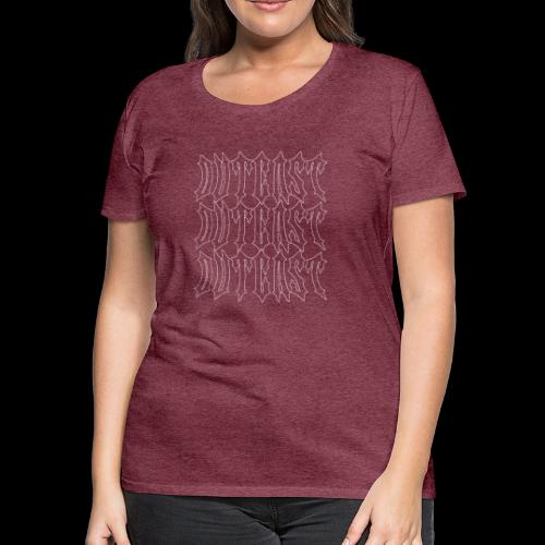 outcast x3 white - Women's Premium T-Shirt