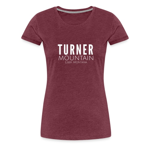Turner Mountain - Women's Premium T-Shirt