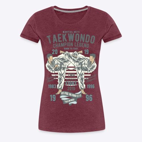 Taekwondo champion - Women's Premium T-Shirt