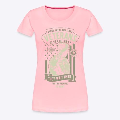 US Army Veterans - Women's Premium T-Shirt