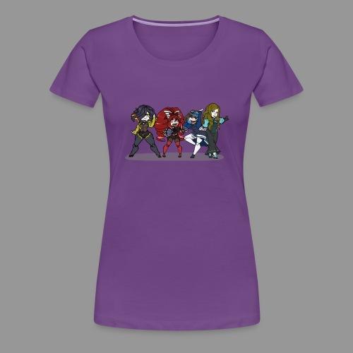 Chibi Autoscorers - Women's Premium T-Shirt