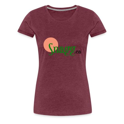 Snagg ca - Women's Premium T-Shirt