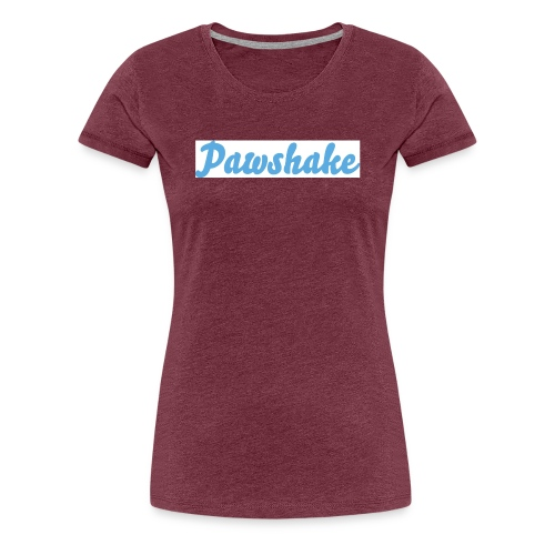 High Res Pawshake Logo - Women's Premium T-Shirt