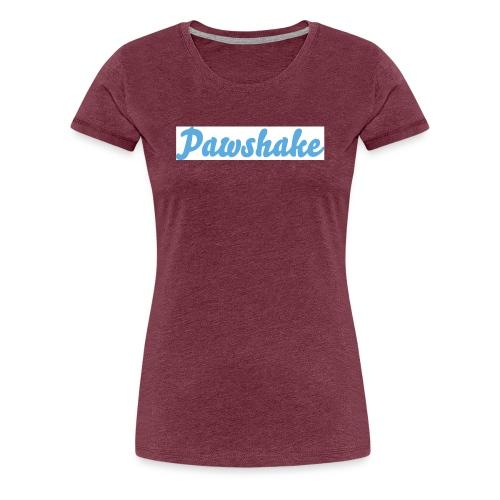 High Res Pawshake Logo - Women's Premium T-Shirt