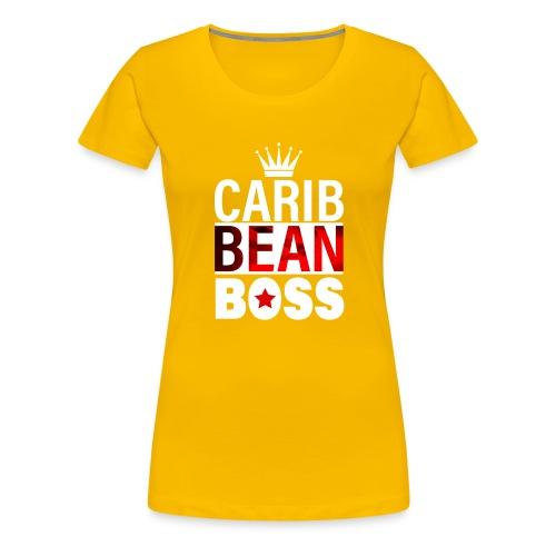 Caribbean Boss - Women's Premium T-Shirt