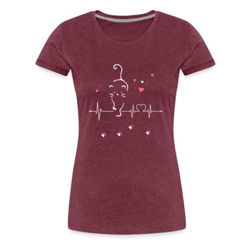 Cat Lover - Women's Premium T-Shirt